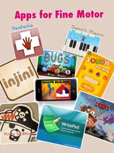 Assistive Technology Adventures: Fine Motor Skills - Apps