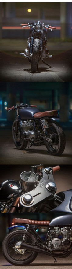 Backyard build: Dave Lehl's Honda CB550