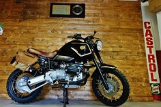 BMW GS Urban Scrambler by Officine Sbrannetti