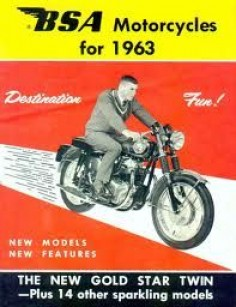 BSA Motorcycles 1963 - The New Gold Star Twin