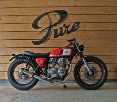 "caferacerpasion: ""Honda Brat Style #25 ""Time Less"" by Pure Motorcycles 