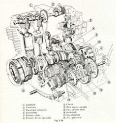 1967 honda cb450 black bomber honda cb450 cafe racer