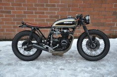 CB550 Seaweed Build by Jarred DeArmes bound for Colorado - Seaweed & Gravel