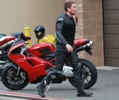 Chrstian Bale on your ducati