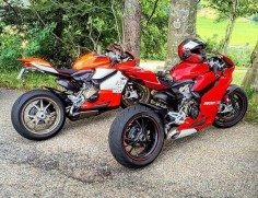 Ducati 1199 Panigale vs Ducati 1199 Supperllegera