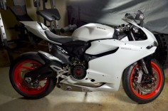 Ducati 899 right side