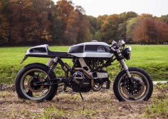 Ducati 900ss ‪‎Cafe Racer‬ ''Wheels of Fortune'' by WIMOTO Custom Bike Design #motorcycles #ducati #caferacer |