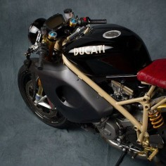Ducati Cafe Racer - repined by  #MotorcycleHouse