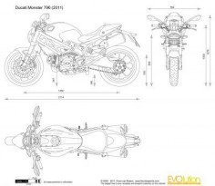 Ducati Monster 796 Blueprint