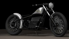 Electric Minimalism: SineCycles custom electric motorcycle