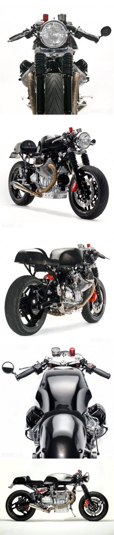 From car mechanic to Millionaire. BE ready Moto Guzzi V1100 Daytona '96 Cafe Racer