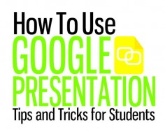 Google Presentation Tips and Tricks for Students - ThingLink