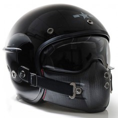 Harisson Corsair helmet - gloss black