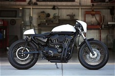 HARLEY CAFE RACER BY DP CUSTOMS