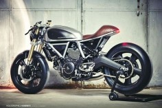 Holographic Hammer Ducati Scrambler Cafe Racer ~ Return of the Cafe Racers