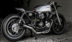 Honda CB 750 Cafe Racer by Thirteen and Company #motorcycles #caferacer #motos |