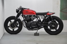Honda CB 750 Four F2 Cafe Racer By Dirty Seven Motorcycles