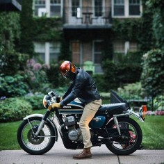 Honda CB 750-Habermann & Sons Classic Motorcycle Clothiers