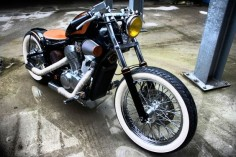 Honda Shadow 600 bobber | Bobber Inspiration - Bobbers and Custom Motorcycles | rtessmann August 2014