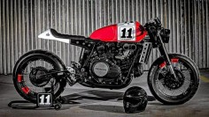 Honda VF750 Saber by Lucky Custom -this shit is ridicules