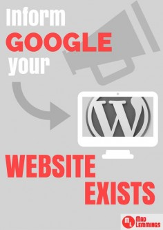 How To Index a New Wordpress Website - Get Discovered by Google #blogging #startup #smallbusiness