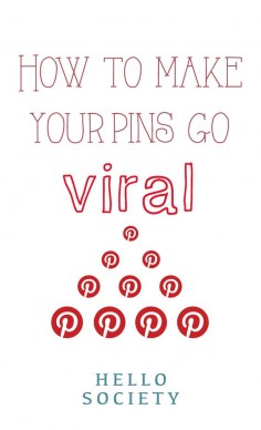 How to make your pins on #Pinterest go viral. For more Pinterest tips, follow #PinterestFAQ, curated by #JosephKLeveneFineArtLtd