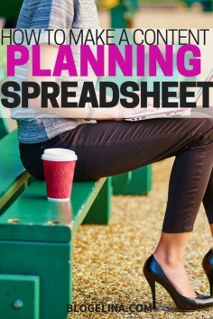 IF you fail to plan, you plan to FAIL. [GENECIA SHARES]: How to Make A Content Planning Spreadsheet. Follow my board for more business branding and womenpreneur resources xx. Love, Genecia #SoulRichWoman