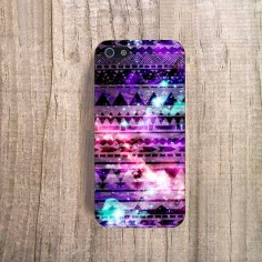 iPhone 4 Case Galaxy Tribal iPhone 4s Case Aztec by casesbycsera, $