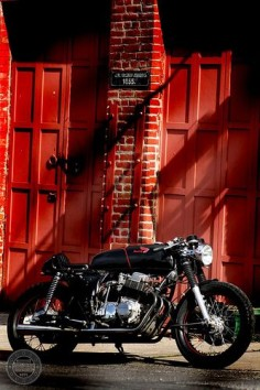 Jacob's Honda CB750 Cafe Racer