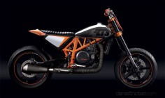 KTM 690 Street Tracker hybrid Bikenstein by Derestricted
