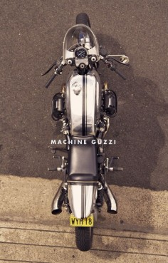 Machine's Perfect Moto Guzzi Cafe Racer #motorcycles #caferacer #motos |