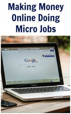 Making Money Online Doing Micro Jobs