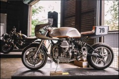 Moto Guzzi Cafe Racer by Stasis Motorcycles #motorcycles #caferacer #motos |