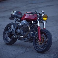 Moto Guzzi Café racer | dropmoto's photo