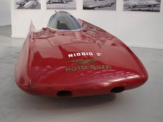 Moto Guzzi Nibbio 2. Moto Guzzi built their own wind tunnel in 1950 to test mororcycle fairings.