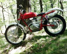 Moto Guzzi trials bike.