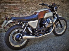 MOTO GUZZI V7 'BROWN SUGAR' - FMW - INAZUMA CAFE RACER