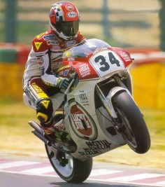 MotoGp/500cc. Kevin Schwantz, Lucky Strike (for many more see board motogp suzuki)