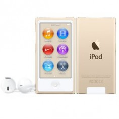 New 8th Gen iPod nano Gold - Exactly the same as 7th gen, only difference is color. From 7th gen I want purple, from 8th gen I want gold ♥
