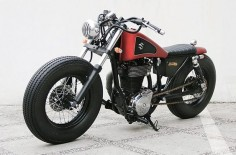 Perfect Suzuki Savage LS650 Bobber by Studio Motor #bobber #suzuki #motorcycles |