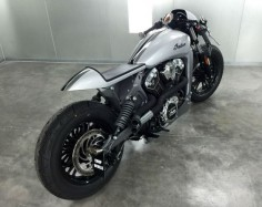 Silver Indian Scout - Rear Right