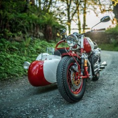 The Alpinist: A Moto Guzzi sidecar rig from NCT Motorcycles. - Bike EXIF