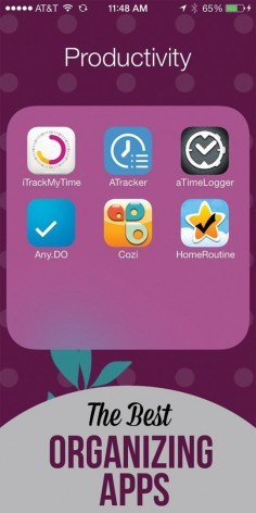 The best iPhone apps for organizing, time management,and busy moms!