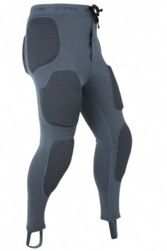 The Forcefield Pro Pant is a full length armoured base layer pant with removable CE approved armour covering the knees, thighs, hips, buttock and coccyx with Repeat Performance Technology (RPT) to ensure continued protection even after multiple impacts. Constructed from BeCool™ a unique