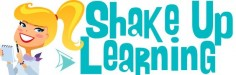 The Shake Up Learning website and blog by Kasey Bell provides educators with digital learning resources, and tips and technology integration ideas.