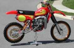 These Maico 490cc machines were  scary to ride too!!!