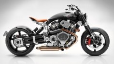 This Burly, $65K Motorcycle Is Inspired by a Fighter Plane | The bike was designed by South African Pierre Terblanche, formerly of Ducati, Moto Guzzi, and Norton.  Confederate Motorcycles  |