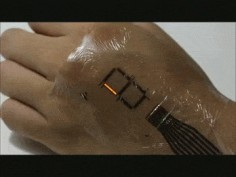 This Electronic Skin Will Turn Your Palm into a Digital Display | Motherboard