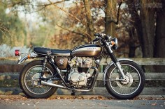 This stealthy Honda CB450 custom looks mostly stock at first glance, but there are a dozen unique touches that make it special.