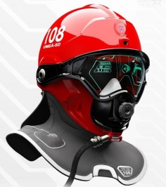 This Swedish designed helmet can help fire-fighters see through smoke. Wearable tech is always making leaps forwards nowadays and is a very exciting area of development.